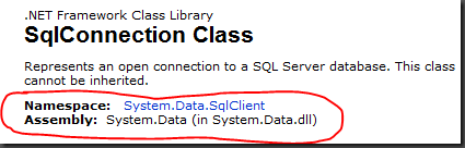 MSDN_sqlconnection